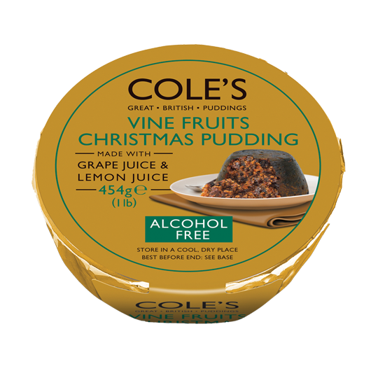 Coles Vine Fruits Christmas Pudding