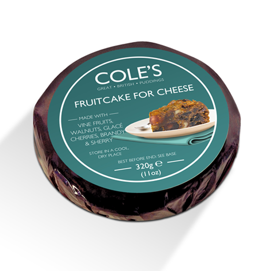 Cole's Fruitcake for Cheese